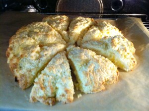 Orange-Apricot Scones Recipe