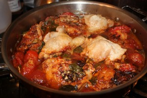 Let it Snow on November 7 –  Dinner Tonight: Pollo Alla Potentina – My Version