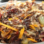 Take A Walk on the Wild Side – Wild Rice with Dried Cherries, Orange and Pecans