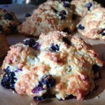 "Been Draggin' My ""Buns"" Around – 59F is the new ""Great, Perfect"" for me! – The Blueberry-Banana Scone"