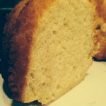 The Pear and Ginger Bundt Cake