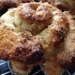 "Flower/Flour Power  – Orange ""Blossom"" – Pecan Scones"