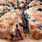 Bell-Bottom Blues, Available for the Pickin' Right Now- Blueberry Nutmeg Scones