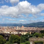 Geoffrey Chaucer, The Last Day and Our Visit to Piazzale Michaelangelo