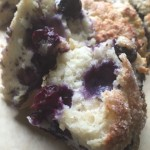 Study of Craggle* and Crumb – The Egg White Scone with Lemon, Verbena, Blueberries and Nutmeg Sugar