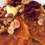Updating Gluten-Free Pumpkin-Corn Griddle Cakes: with Ricotta and Cider