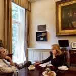 The Photographer and the Pastry Chef: Scones Caught in an Instant of History – Doris Kearns Goodwin and Barack Obama – The Pumpkin-Maple Scone