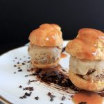 Day 16 – A Gift of 25 Recipes – Don't Be Afraid of the Choux – Profiteroles with Blood Orange-Mezcal Caramel